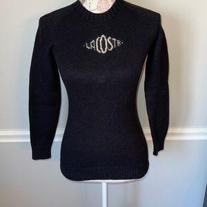 Vintage Lacoste Black Sweater 38
